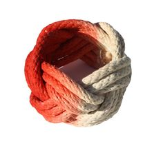 Rope Knot Bracelet by Tanya Aguiñiga   WestEdge 2014