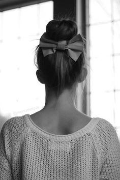 bow and bun