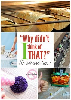 "12 ""Why Didn't I Think of That?"" Tips - Positively Splendid {Crafts, Sewing, Recipes and Home Decor}"