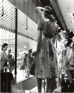 Window Shopping on State Street, Chicago, 1941.