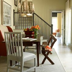 dining rooms, breakfast rooms, interior design, stair design, paint designs