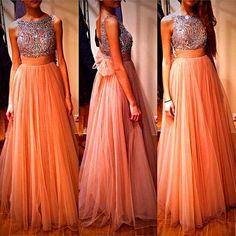 vestido longo ♥
