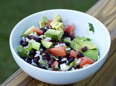 Brown Rice & Black Bean Salad