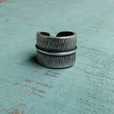 MUSIBATTY Small Feather Ring