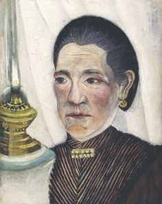 Henri Rousseau - Portrait de la seconde femme de Rousseau (1903)