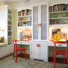 Homeschool Rooms Design Ideas, Pictures, Remodel, and Decor - page 2