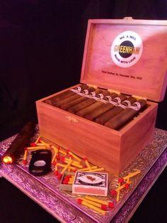 cigar grooms cake - Google Search