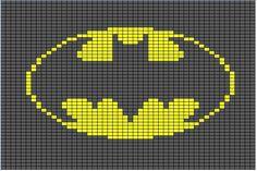 Batman Logo Crochet Pattern