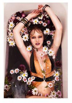 ANKH spiral bracelets in editorial photo Marie Nahon stylist Jackie Juniper