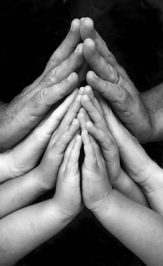 praying hands - perfect for a family photo