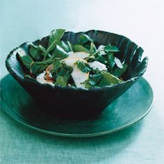 Pear, Arugula, and Pancetta Salad