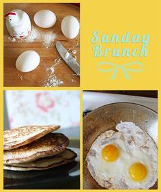 Coconut Pancakes #breakfast #food