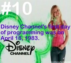 Cool Disney Facts.  I remember that.  They ran most of their old movies and TV series, a lot of cartoons, Charlie Chaplin's movies, and a (very) few original shows to start with.