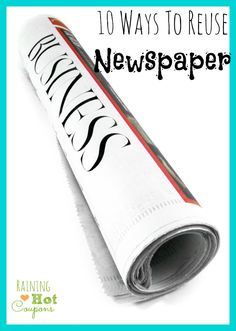 10 Ways To Reuse Newspaper *Get more FRUGAL Articles, tips and tricks from Raining Hot Coupons here* How to Get Super Silky Shaved Legs without Using Shaving Cream! 4 FREE and Easy Tips to Make your Eyelashes Look Long, Thick and Beautiful! Frugal Homemade Cleaning Solution Recipes Super Easy and Frugal Moisturizing Hair Mask Recipe How to [...]