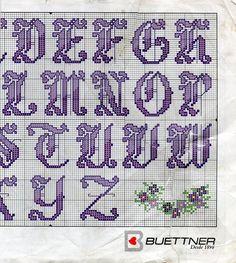 Cross-stitch ABCs...  part 2..   Solo Patrones Punto Cruz | Aprender manualidades es facilisimo.com