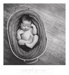 blanket inside basket