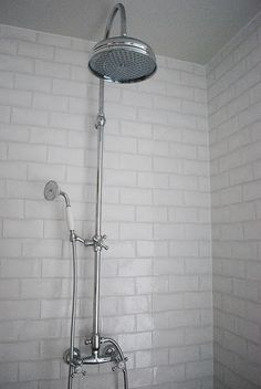 showerhead and tile