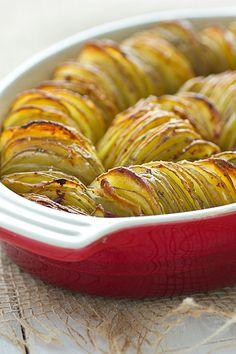 Crispy Chipotle Potato Tian #vegan