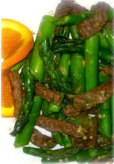 Steak and Asparagus Stir-Fry Hcg Recipe - Anna Things and Thoughts