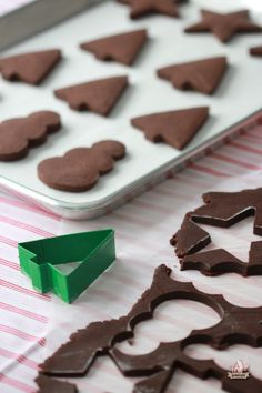 Recipe for Chocolate Sugar Cookies by Sweetopia ~ Just heard this recipe is AMAZING!