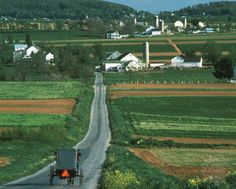 Amish country ~ Lancaster County, Pennsylvania