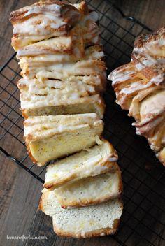 Soft, tender, citrusy Meyer Lemon Poppy Seed Pull Apart Bread! www.lemonsforlulu...