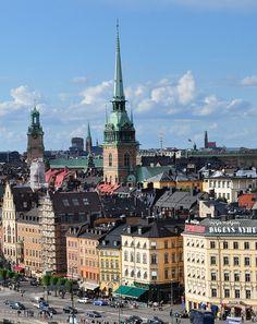 Stockholm, Sweden #cities #sverige #scandinavia