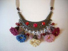 Christmas gift needle lace necklace gift by AnatolianWedding, $45.00