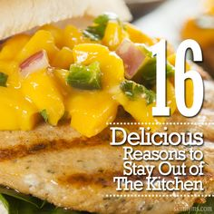 16 Delicious Reasons to Stay Out of The Kitchen #eatoutside #grilling #summer