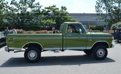 classic 4x4 ford trucks | 1974 ford f 250 ranger 4x4 pickup truck 2 1