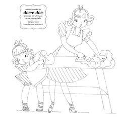 ironing day : doe-c-doe: thursday = embroidery