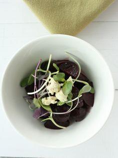 yummy beet salad by @Gena Hamshaw @genahamshaw #vegan #raw