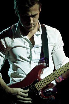 Ryan on guitar