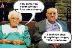 funny caption old couple