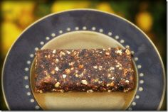 Easy Homemade Cherry Pie Lara bars, link to date/nut GF Power Bars