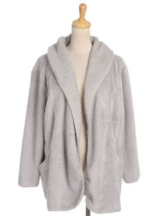 Anna-Kaci S/M Fit Faux Fur Warm and Fuzzy Hooded L/S Pocket Winter Jacket - List price: $31.90 Price: $21.50