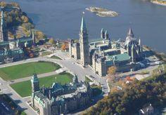 Parliament Hill, Rideau Street Ottawa