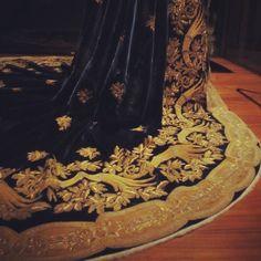 costum, detail, cloth, dress, castles, elysian, fairytal, black, embroideri