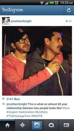NKOTB - Donnie & Jon,  love!!!!