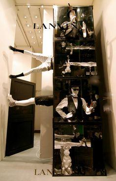 Lanvin windows Spring 2012, Paris » Retail Design Blog
