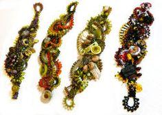 Fabulous freeform bracelets