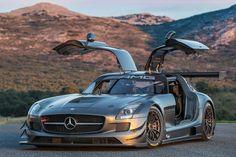Mercedes SLS AMG GT3 45th Anniversary racecar