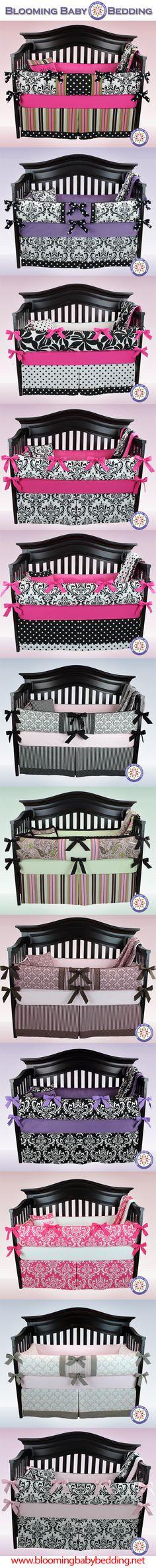 Baby Bedding - Crib Bedding - Baby Girl Bedding