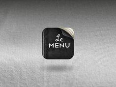 Le Menu app icon | Designer: Michael Spitz - http://www.flickr.com/photos/michael-spitz
