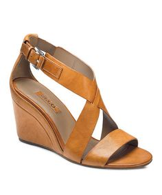 Take a look at this Lion Ossima Wedge Sandal by ECCO on #zulily today!