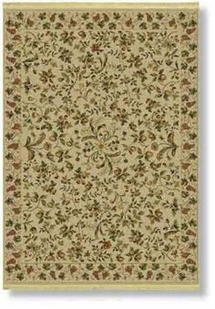 "Shaw Kathy Ireland Home Essentials Devonshire 7'7"" x 7'7"" Natural Round Area Rug by Shaw. $549.00"