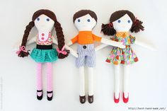 Mimin Dolls: tutorial - the make it and love it