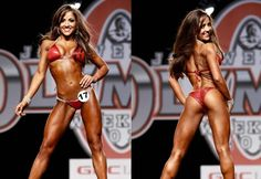 Nicole Nagrani...while I'm competing in the NPC Bikini division she's my role model! Only a few more months til I'm on stage too!!