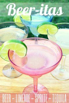 Beer Margarita Recipe| TodaysCreativeBlog.net