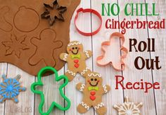 NO CHILL Gingerbread Roll Out Cookies